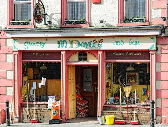 """<b>Doyles</b> Grocery <b>Pub</b>, <b>Graiguenamanagh</b>, County Kilkenny, Ireland"""" by ..."""