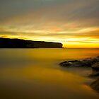 Watamolla sunrise by donnnnnny
