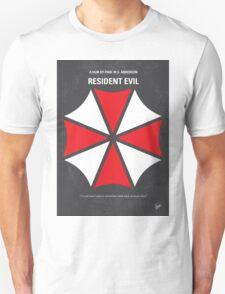 No119 My RESIDENT EVIL minimal movie poster T-Shirt
