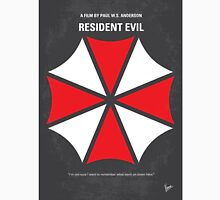 No119 My RESIDENT EVIL minimal movie poster Unisex T-Shirt