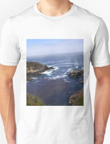 Coast -- somewhere along Big Sur Unisex T-Shirt