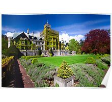 Hatley Castle Courtyard Poster