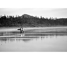 A long days surf Photographic Print