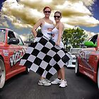 Oh Yes The Checkered Flag by bygeorge