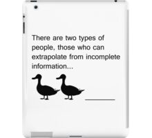 Duck Duck ____ iPad Case/Skin