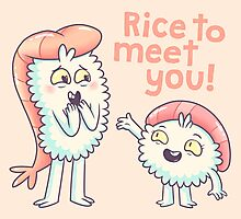 Rice to meet you! Photographic Print