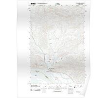 USGS Topo Map Washington Skamokawa 20110914 TM Poster