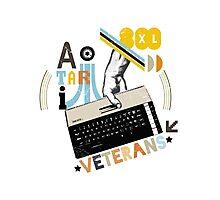 8bit Veterans Atari Photographic Print
