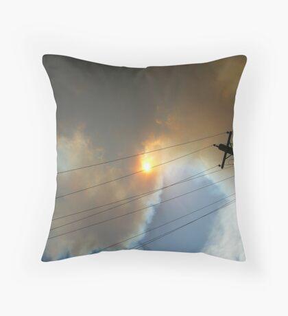 Bushfire Season Throw Pillow