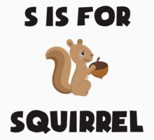 S Is For Squirrel Kids Clothes