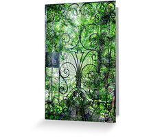 Wrought Iron Mystery Greeting Card