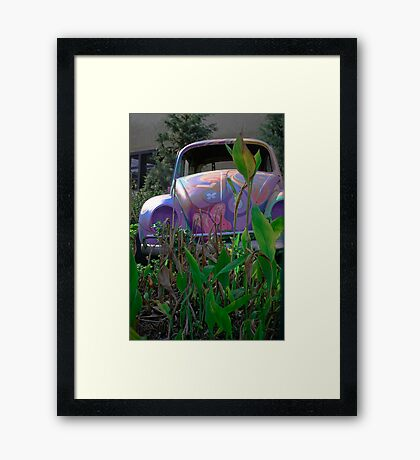 Back To The 60's Again! Framed Print
