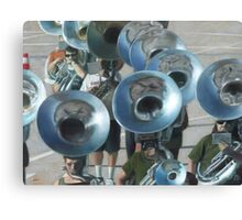 Ten Tubas Canvas Print
