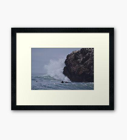 The big Kahuna Framed Print