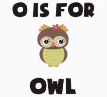 O Is For Owl Kids Clothes