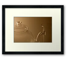 Shaped for tea (1) Framed Print
