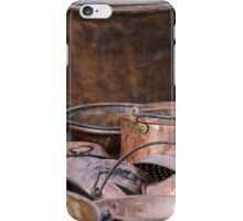 old pots and pans iPhone Case/Skin