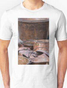old pots and pans Unisex T-Shirt