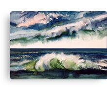 Stormy atmosphere Canvas Print