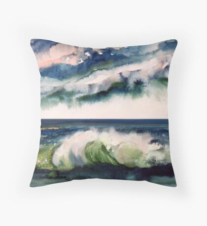 Stormy atmosphere Throw Pillow