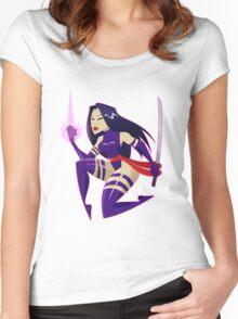 PSYLOCKE Women's Fitted Scoop T-Shirt