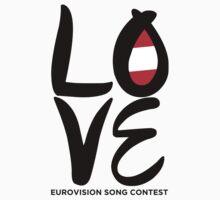 LOVE Eurovision [Austria] Kids Clothes