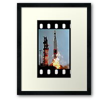 ICBM Launch  Framed Print