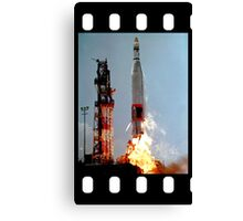 ICBM Launch  Canvas Print