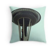 The Space Needle Throw Pillow