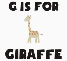 G Is For Giraffe Kids Clothes