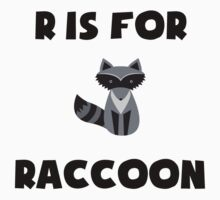 R Is For Raccoon Kids Clothes