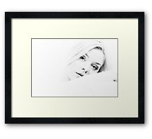 Portrait Framed Print