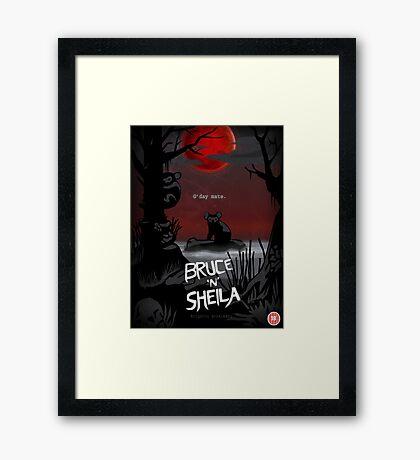Bruce'n'Sheila Framed Print