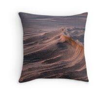 Oceano Dunes at Sunset Throw Pillow