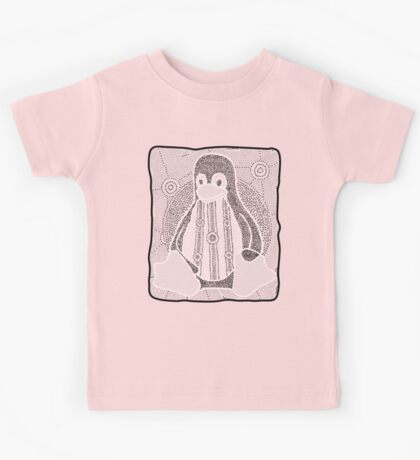 Tux (Monochrome) Kids Clothes