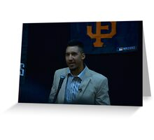 Travis Ishikawa @ JCCCNC  Greeting Card
