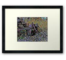 Down on the Farm 40 Framed Print