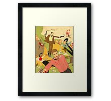 Boys just want to have fun Framed Print