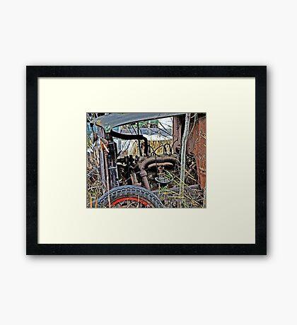 Down on the Farm 45 Framed Print