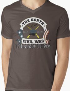 The North - Civil War Champions - Notherner Pride - Union Pride - Anti-Confederate Funny Shirt Mens V-Neck T-Shirt