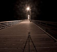 Alone on the Pier by bouldercreek