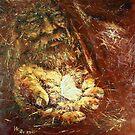 Alms of Hope / 2011 / oil on canvas by Ivan KRUTOYAROV