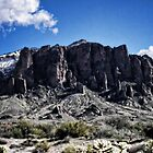 Snow on the Superstitions  by Saija  Lehtonen