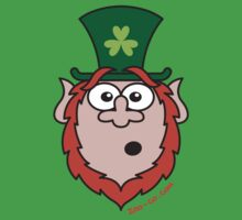 St Paddy's Day Surprised Leprechaun by Zoo-co