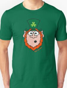 St Paddy's Day Surprised Leprechaun T-Shirt