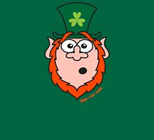 St Paddy's Day Surprised Leprechaun Unisex T-Shirt