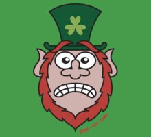 St Paddy's Day Stressed Leprechaun by Zoo-co