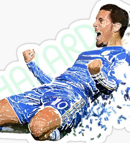 Eden Hazard #10 Sticker