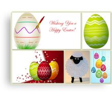 Wishing you a Happy Easter! Canvas Print