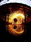 Burning Time by JAZ art